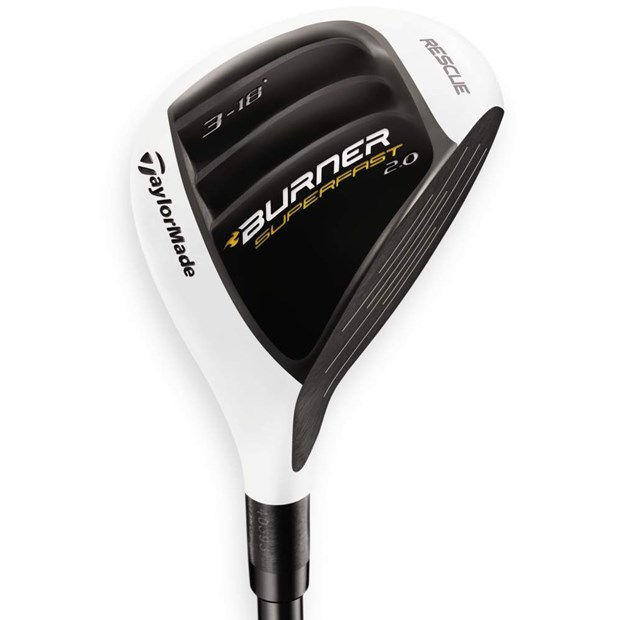 TaylorMade Burner SuperFast 2.0 Rescue Hybrid Preowned Golf Club