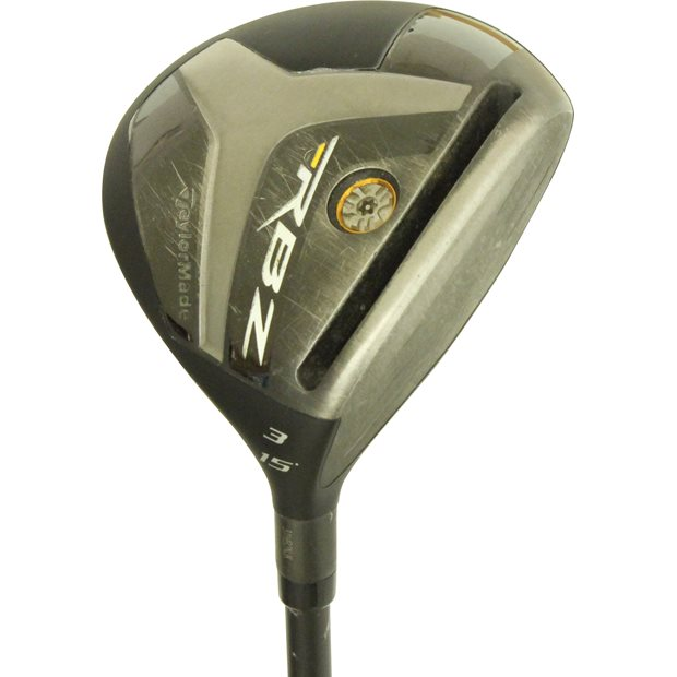 TaylorMade RocketBallz RBZ Stage 2 Custom Black Fairway Wood Preowned Golf Club
