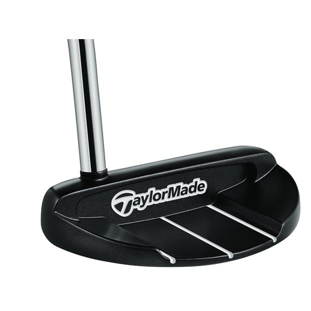 TaylorMade White Smoke MC-72 Matte Black Putter Preowned Golf Club