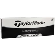 TaylorMade Lethal Practice Golf Ball CloseOut