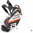 TaylorMade R1 White/Black/Orange Stand Golf Bags