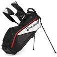 TaylorMade Pure-Lite 2014 Black/White/Red Stand Golf Bags